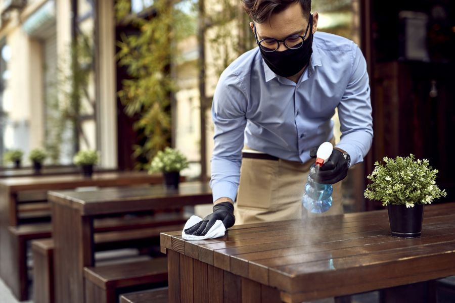 Restaurant Cleaning by Baza Services LLC